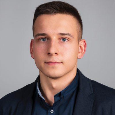 Damian Gruchała Łudź Centrum - wizytówka